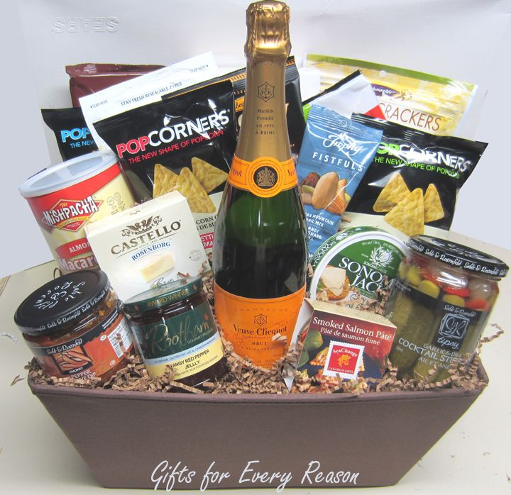 81 best toronto gift baskets by gifts for every reason images on custom executive gluten free gift with veuve clicquot champagne negle