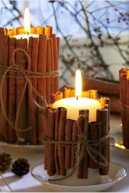 """Милые сердцу штучки: Новогодний декор: """"Композиции со свечами"""" (подборка и несколько советов)"""