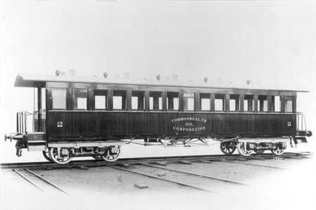 Second Class carriage