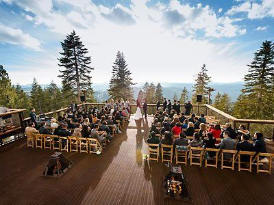 Schaffer's Camp at Tahoe Mountain Club Truckee California Wedding Venues 1