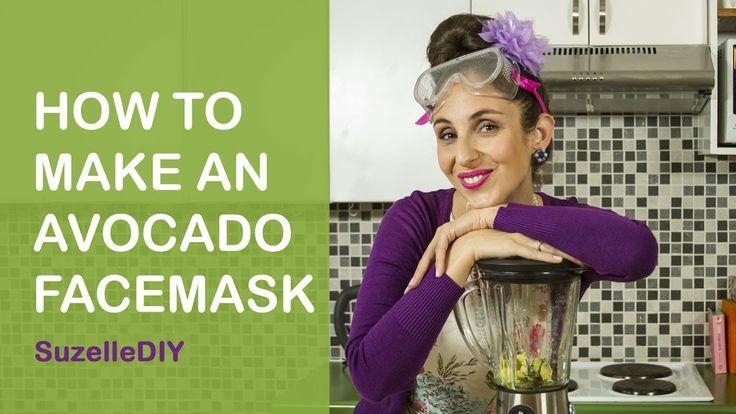 SuzelleDIY - How to Make an Avocado Facemask