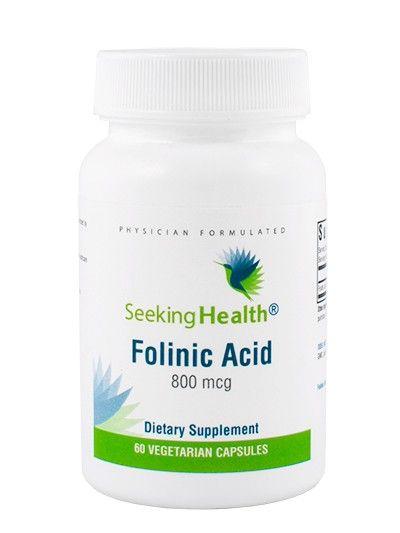 Folinic Acid - Folinic Acid - Folate - B Vitamins - Vitamins - Essentials