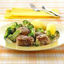 Varkensfilet in fijne mosterdsaus Recept | Weight Watchers België