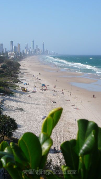 North Burleigh looking towards Surfers Paradise, Gold Coast. #thisisqueensland
