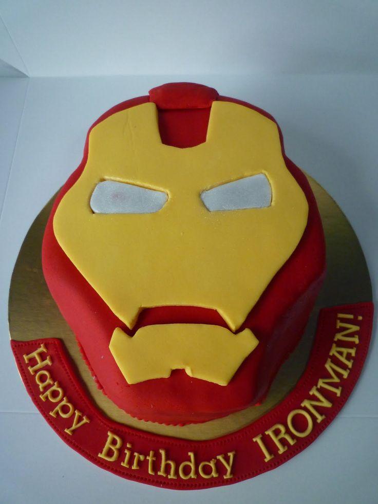 The 25 best Iron man cakes ideas on Pinterest Iron man birthday