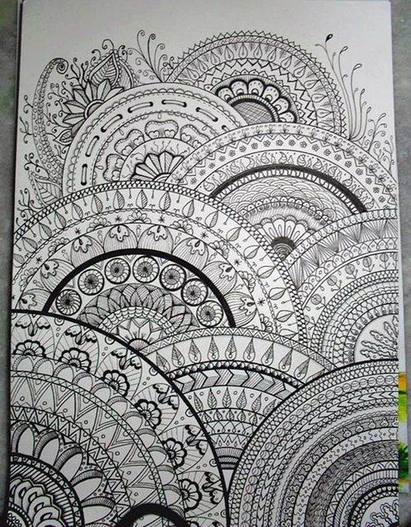 60 Absolutely Beautiful Zentangle Patterns For Many Uses Sharon Magnificent Pattern Art