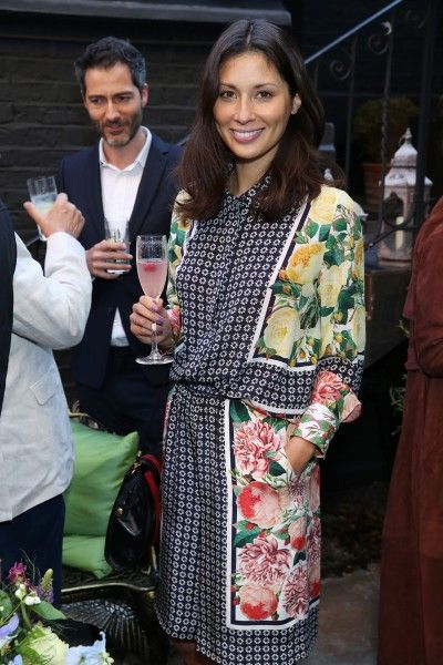 Jasmine Hemsley sipping cocktails in the bohemian garden at Matthew Williamson Blakes Hotel for the Hendrick's Horticultural Oasis Launch. Matthew Williamson collaborated with installation artist Rebecca Louise Law and Blakes Hotel Kensington on a very special bohemian hideaway. Click to read more.