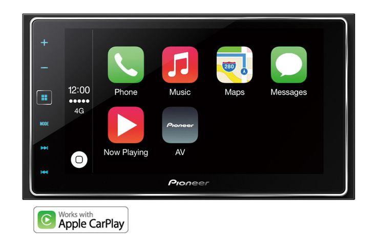 Pioneer SPH-DA120 Car Stereo with Apple CarPlay