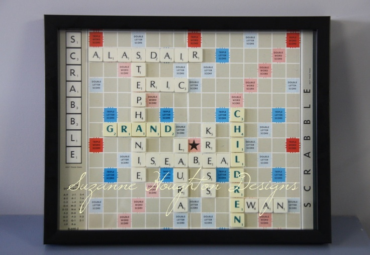 Perfect Christmas present for Grandparents  www.suzannehoughtondesigns.com.au