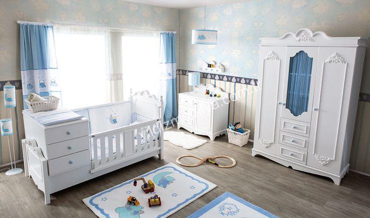 Craft Country Bebek Odası Mavi Odaları Aslında Hayal Dünyaları Seçeceğiniz Ürünlerle İse Onlara Küçük Bir Hayal Dünyası Hazırlayabilirsiniz http://www.yildizmobilya.com.tr/craft-coutry-bebek-odasi-mavi-pmu5517 #home #ev #dekorasyon #populer #trend #modern #mavi #bebek #blue #ahsap #mobilya http://www.yildizmobilya.com.tr/