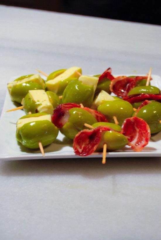 Madrid Food Tour - stuffed-olives