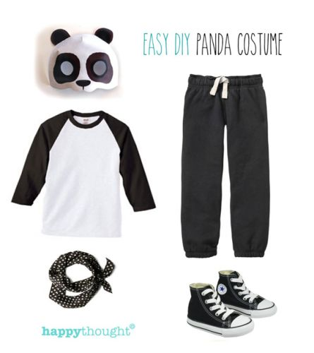 Simple DIY ideas. Easy, fun, dress up Animal costume ideas!