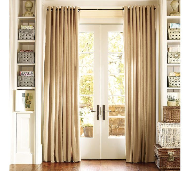 Thermal Patio Door Curtains Will Allow Abundant Sunlight Into Your Room :  Best Thermal Patiodoor Curtain.