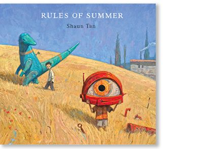 Signed copies of 'Rules of Summer' by Shaun Tan are available at Books Illustrated.