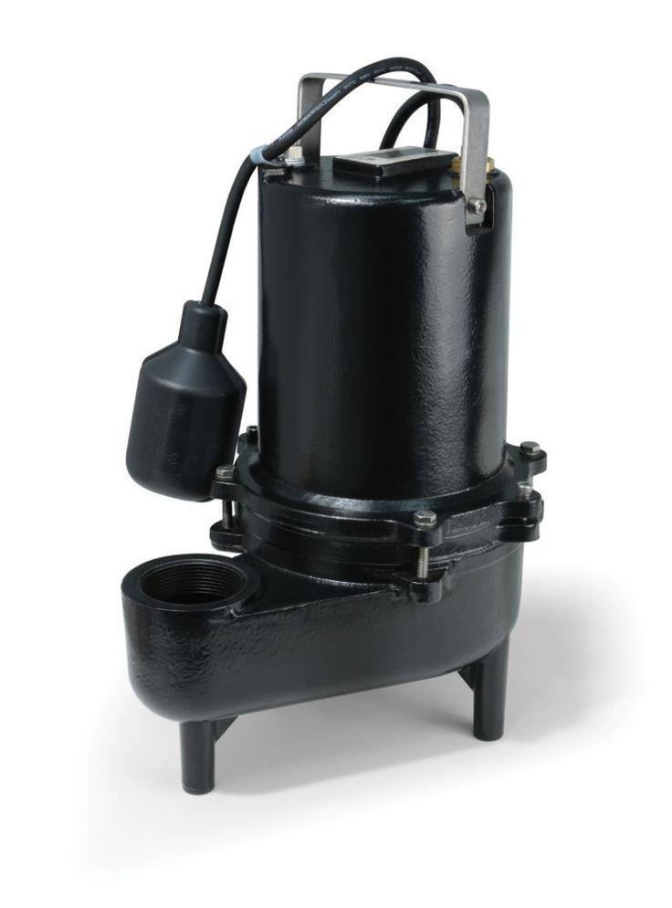 Sewage Pump, 4/10HP, PRO CI, 6600 GPH, Teth Sw #homeimprovementcast,