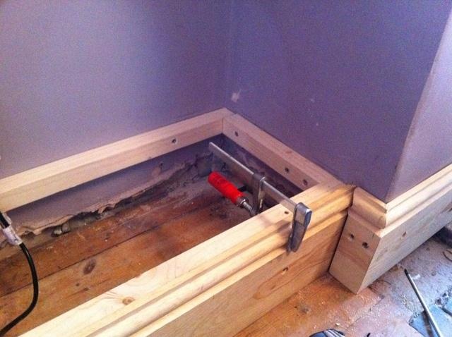 build alcove cabinet 2
