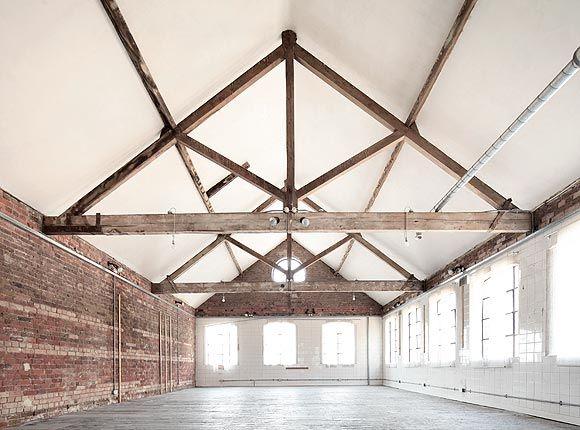 loft dance studio - LOVE IT - barn inspired open airy simple architectural