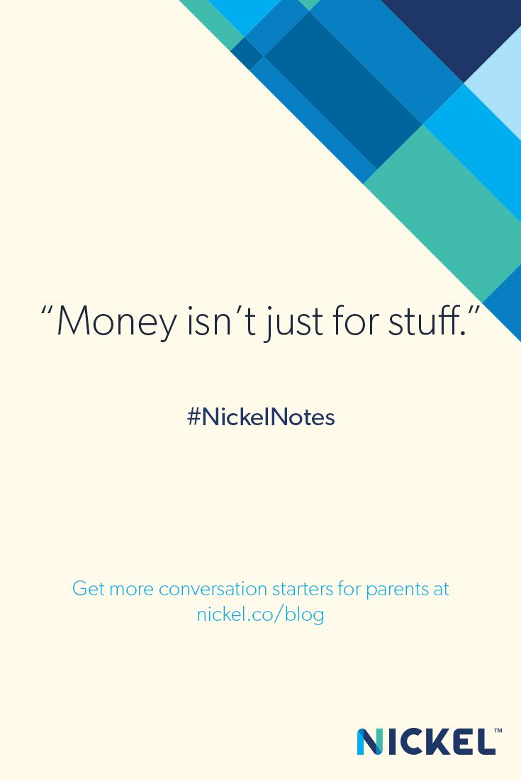 For more information on financial literacy for kids, visit the Nickel blog.