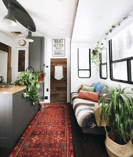 41 Incredible Farmhouse Decor Ideas: Incredible Farmhouse Style RV Makeovers Ideas 106