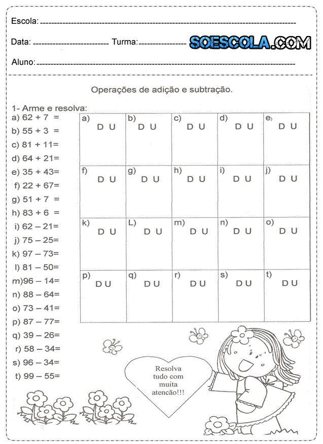 Atividades de matemática para o 2° ano do ensino fundamental