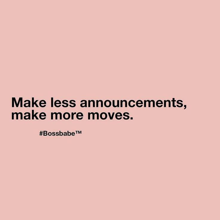 Right?  Come join the girls who are making MOVES in the #BossBabe Academy. BossBabe.me