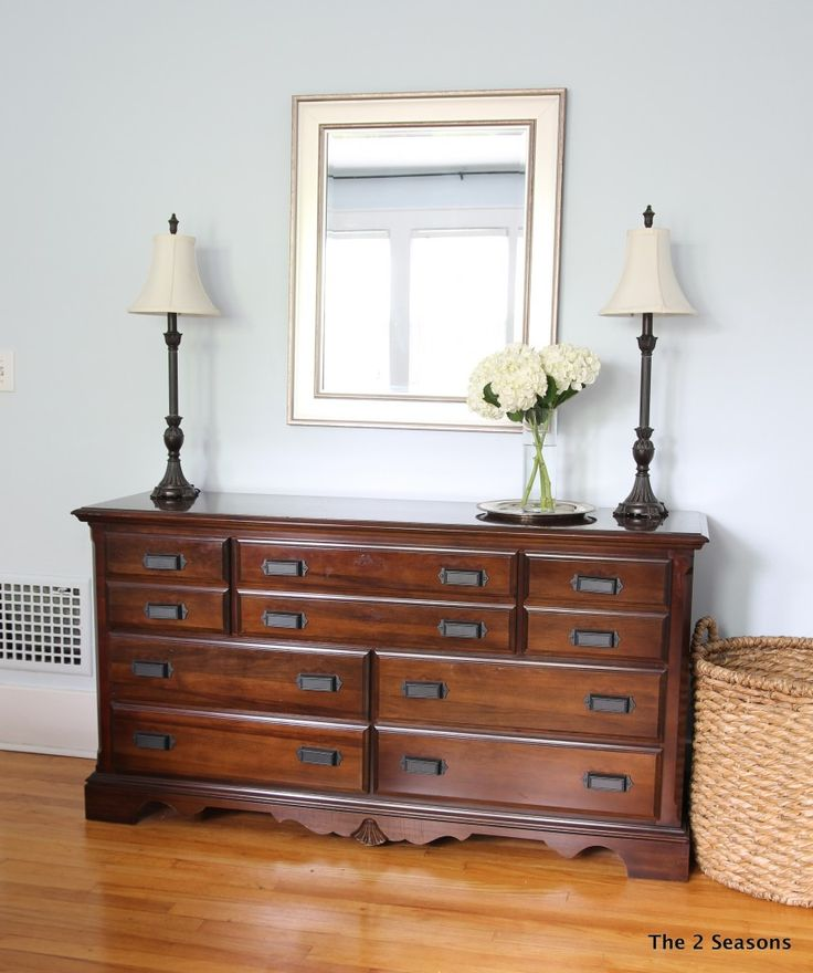 How To Update A Dresser Without Paint Diy Home Decor