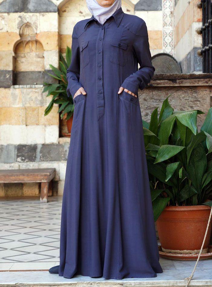 SHUKR USA | Leah Shirt Abaya