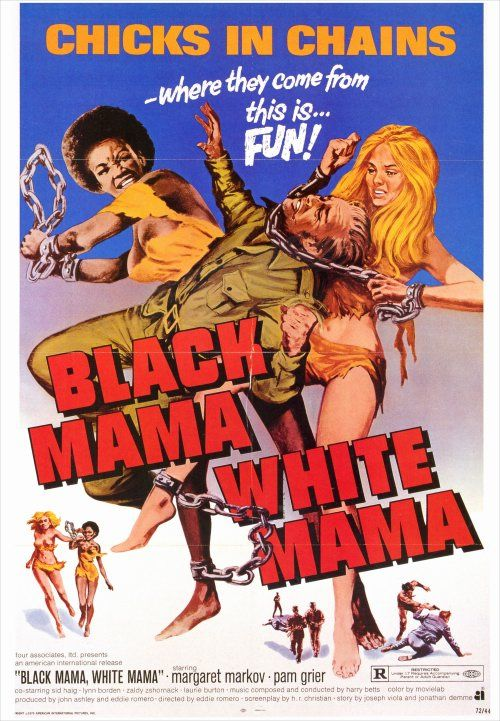 Black Mama, White Mama, 1972 - USA poster