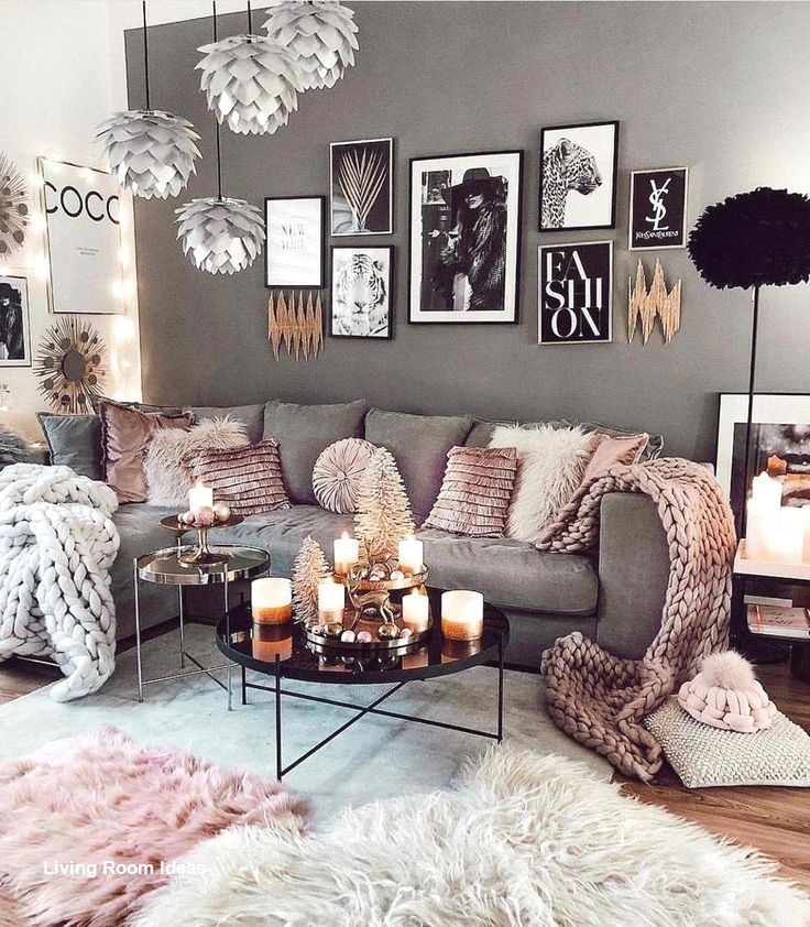 Cozy Living Room Decor For Small Modern Boho Or Rustic Living Rooms In 2020 Living Room Scandinavian Living Room Decor Cozy Living Room Grey #rustic #scandinavian #living #room