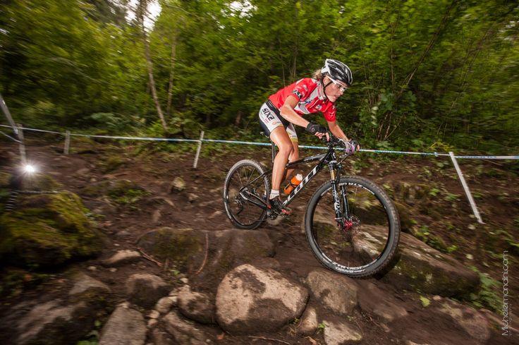 My last XC UCI World Cup of 2015 in Val di Sole   Ph: M.Mondini  #uciworldcup#mountainbike#mtb#teampiemontefci#scottbike#xc#girlrider#cyclistwomen