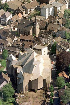iglesia de Neviges by Gottfried Böhm