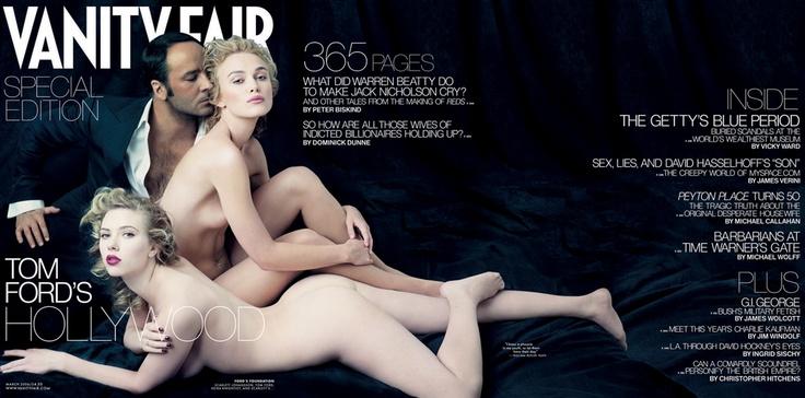Vanity Fair Tom Ford cover