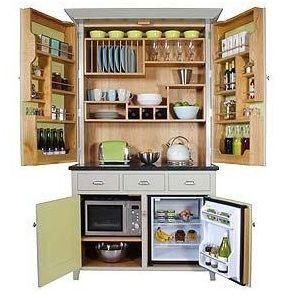 16 besten pantry single mini k chen bilder auf pinterest kleine k chen k che klein und mini k che. Black Bedroom Furniture Sets. Home Design Ideas