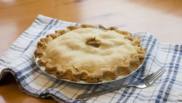 The easiest healthy pie crust ever | Delicious Living Blog