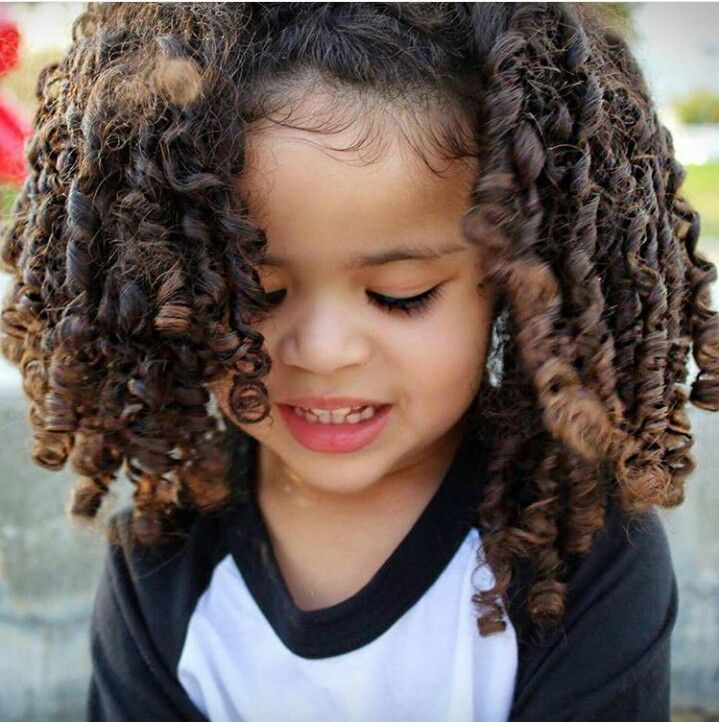 Hairstyles on Pinterest  Mixed girl hairstyles, Mixed kids hairstyles