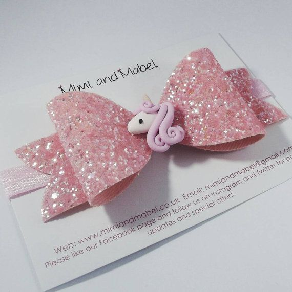 Check out this item in my Etsy shop https://www.etsy.com/uk/listing/472933942/preorder-unicorn-hair-bow-clip-unicorn