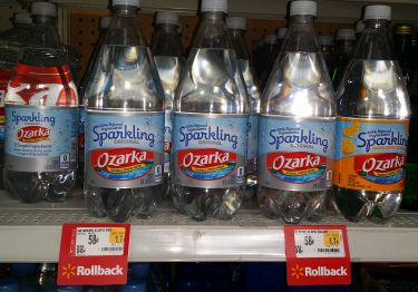 Ozarka Brand Sparkling Natural Spring Water Just $.33 at Walmart!