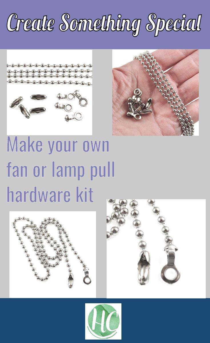 Make Your Own Custom Fan Lamp Pull Ceiling Fan Pull Chain Ceiling Fan Pulls Ceiling Fan Pulls Diy