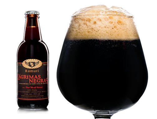 Cerveza Artesanal Mexicana, lagrimas negras.