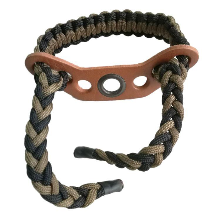 Archey Sling Wrist Ropes 550 Pound 7 Strand type Paracord Bow Wrist Sling Hunting Shooting Wrist Rope