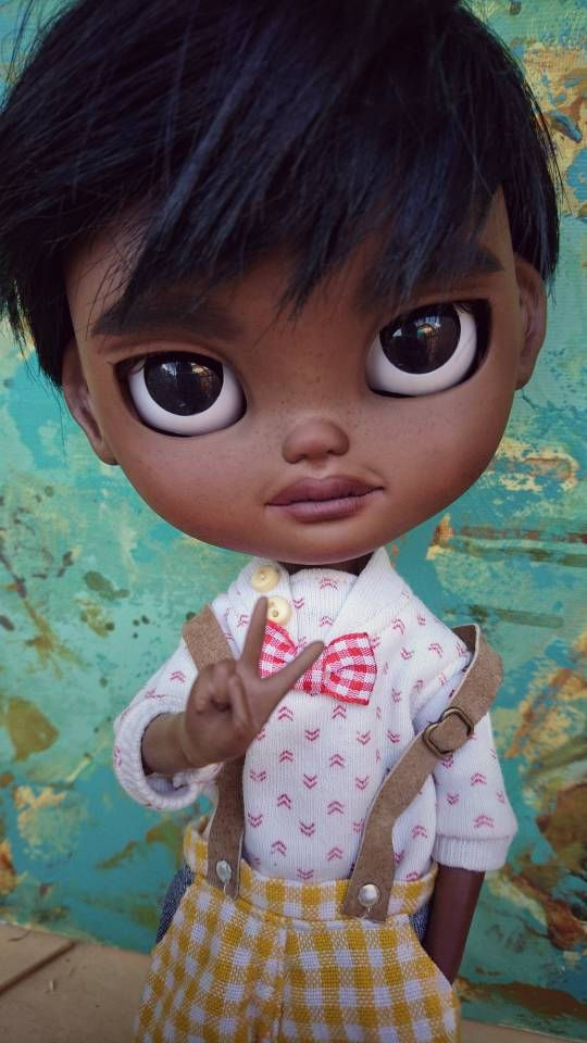 Guarda questo articolo nel mio negozio Etsy https://www.etsy.com/it/listing/538878335/ooak-customed-icy-doll-dodong