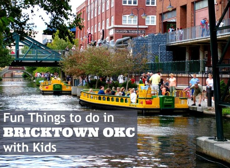 See these fun things to do in Bricktown OKC with kids: Bricktown activities, restaurants in Bricktown OKC & more.