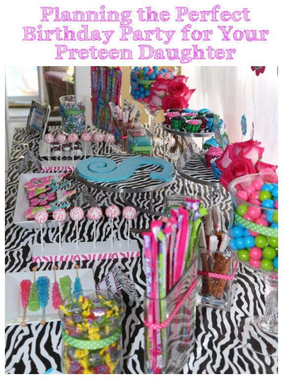 Party Planning - Party Favors: Planning the Perfect Birthday Party for Your Preteen Daughter