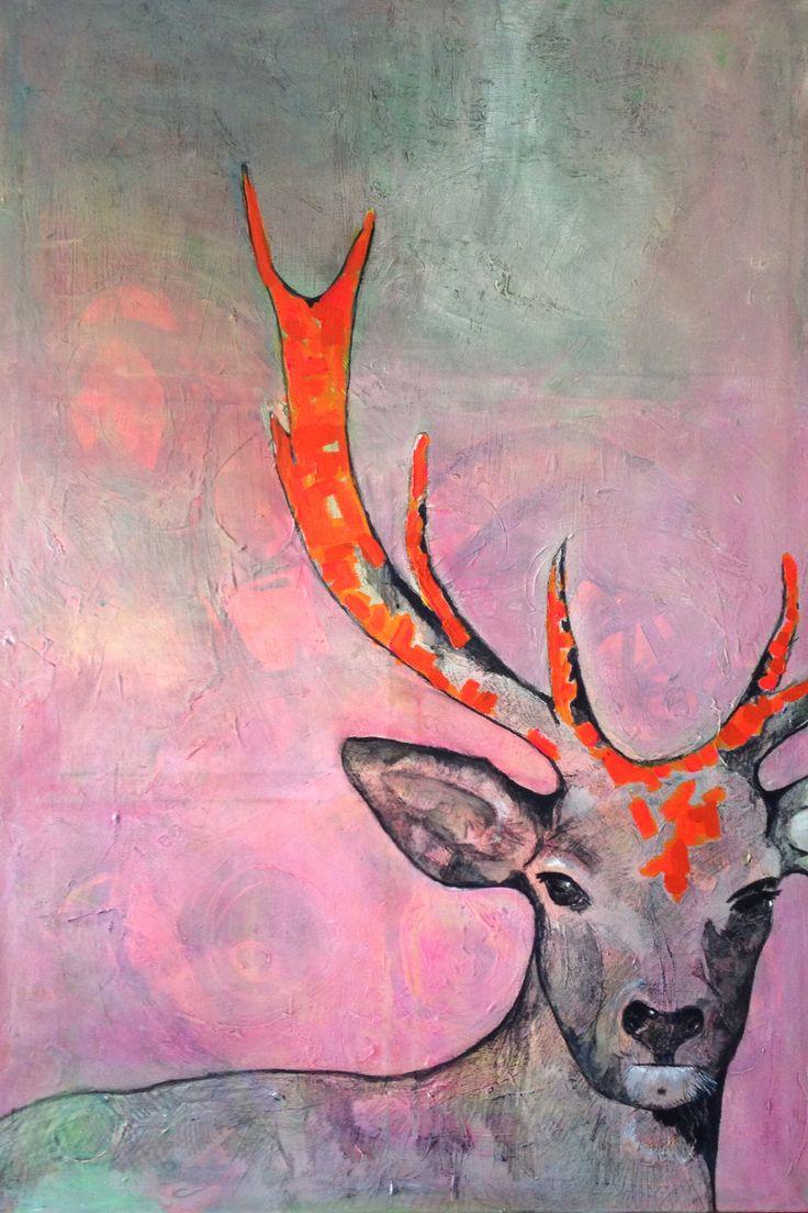 100x150 cm acryl by Marianne Nielsen
