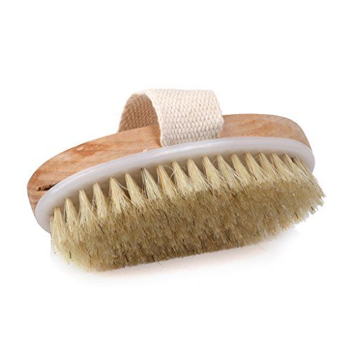 SPA Bath Shower Body Scrubber Bristle Brush with Palm Strap - http://best-anti-aging-products.co.uk/product/spa-bath-shower-body-scrubber-bristle-brush-with-palm-strap/