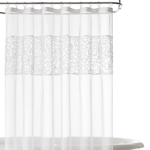 IN CORAL!! Jcp Home™ Ribbon Embroidered Shower Curtain   Jcpenney Photo Gallery
