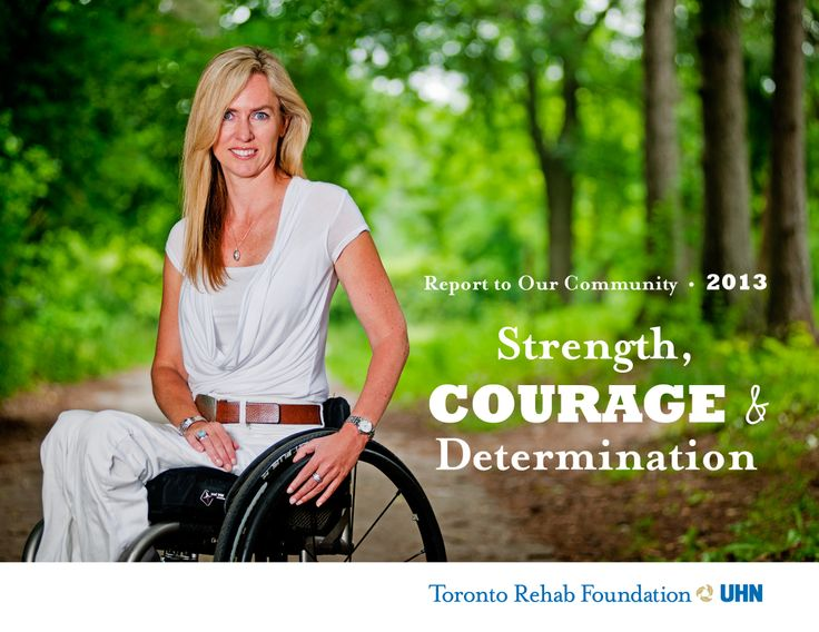 We invite you to read through our 2013 Report to our Community to discover powerful stories of strength, courage and determination. #Innovation meets determination at Toronto Rehab, where our patients continue to achieve more than they could have imagined, thanks to the dedication and commitment of our staff, and the incredible support of the #community.  Read our report on our website www.torontorehabfoundation.com