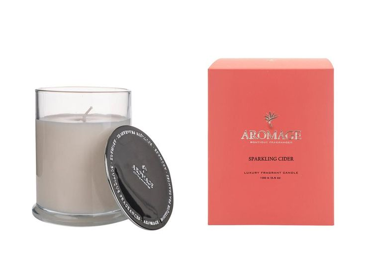 Aromage Luxury Fragrant Candle - Sparkling Cider - 100g  #Luxury #oils #Bestprices #madeinaustralia #diffuser #soy #sale #reed #candles #thefragranceroom