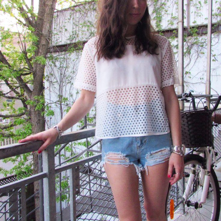 summer lovin' shop new arrivals!!! (Jean shorts:$24.98, Blouse:$19.98) #republiquecollection #jeanshorts #summerfashion #summer #outfit #ootd #summer