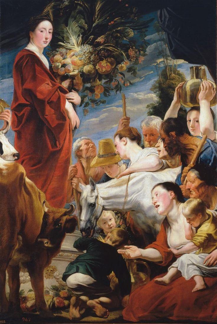 Προσφορά στη Θεά Δήμητρα (1618-20) Μουσείο του Πράδο στη Μαδρίτη